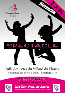 VF - Affiche Spectacle 2015 - Energym K'Danse
